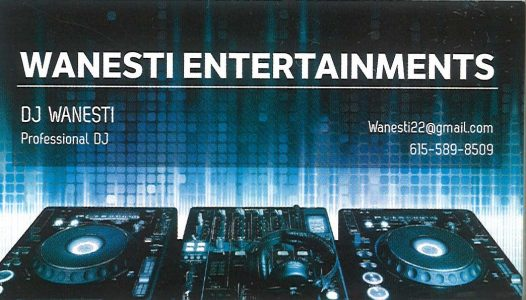 WANESTI ENTERTAINMENTS
